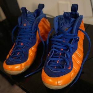 NY Knicks Nike Foamposites